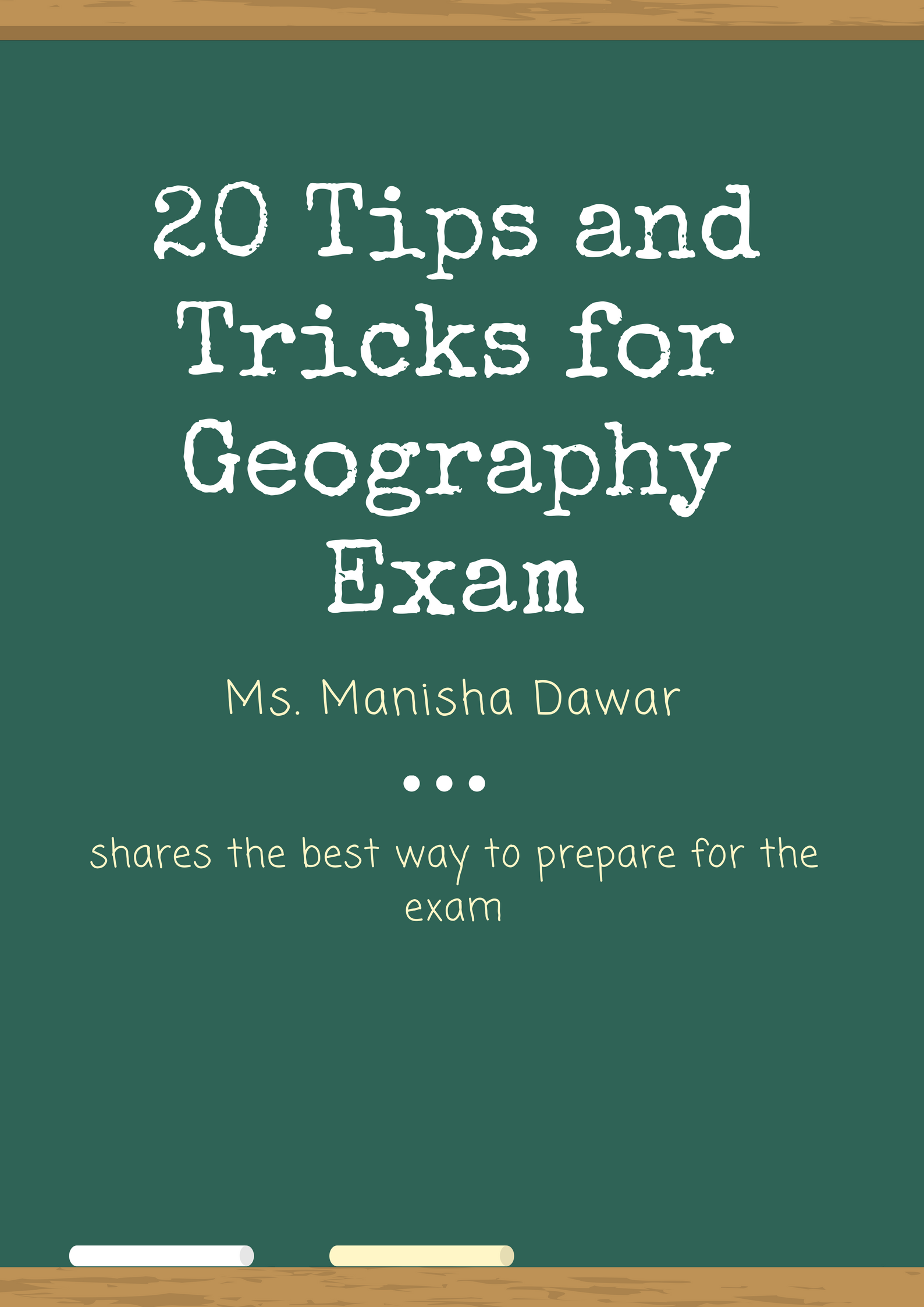 20 Tips and Tricks for Geography Exam
